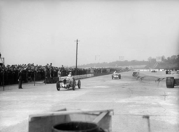 MG cars of Doreen Evans and John Henry Tomson Smith, JCC International Trophy, Brooklands, 1936:ニュース(壁紙.com)
