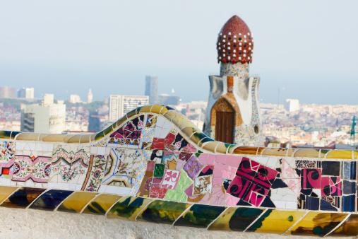 Dragon「Parc Guell. Barcelona. Spain.」:スマホ壁紙(18)