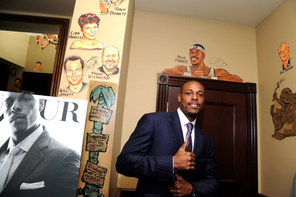 Paul Pierce「DuJour's Jason Binn Welcomes NY Nets Star Paul Pierce To NYC」:写真・画像(11)[壁紙.com]