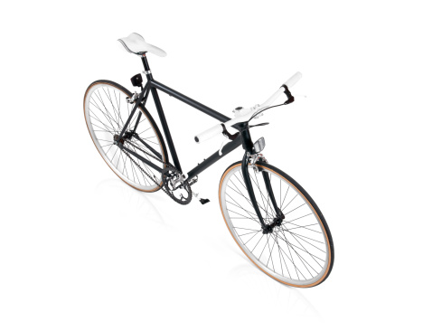 Portability「Black Fixie Bicycle Top View」:スマホ壁紙(6)