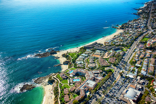 California State Route 1「Laguna Beach Coastal Aerial」:スマホ壁紙(17)