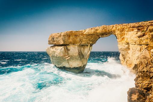 Nature's Window「Azure Window Gozo island, Malta」:スマホ壁紙(2)