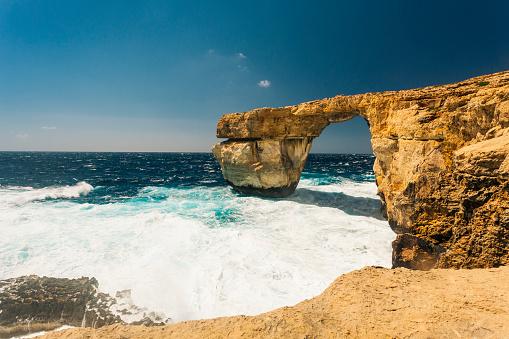 Nature's Window「Azure Window Gozo island, Malta」:スマホ壁紙(3)
