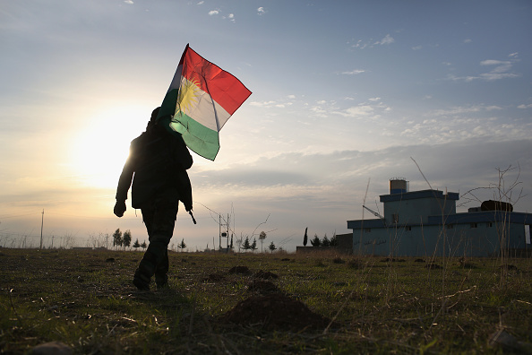 Kurdish「Kurdish Peshmerga Control Sinjar After Driving Out ISIL With U.S. Airstrikes」:写真・画像(1)[壁紙.com]