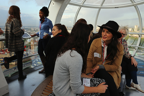 Amusement Park Ride「London Eye Turned Into Classrooms For International Day Of The Girl」:写真・画像(1)[壁紙.com]