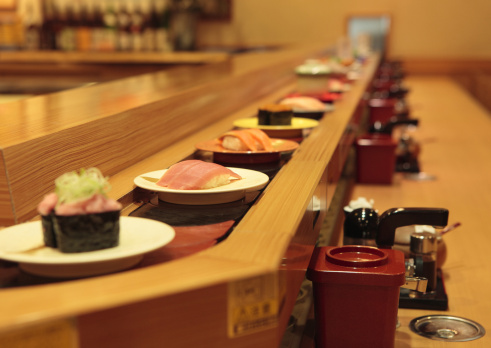 Japan「Conveyor belt sushi」:スマホ壁紙(9)