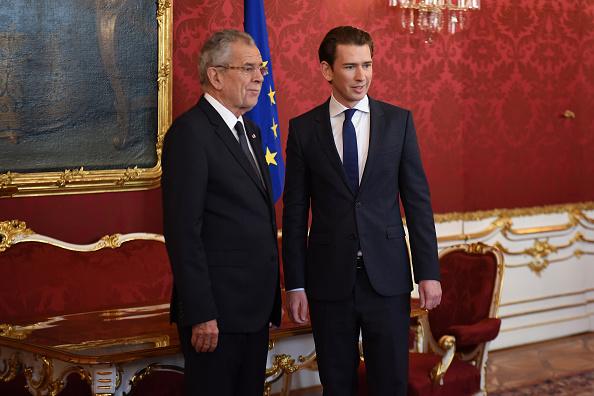Austria「Austrian President Meets Election Winner Sebastian Kurz」:写真・画像(2)[壁紙.com]