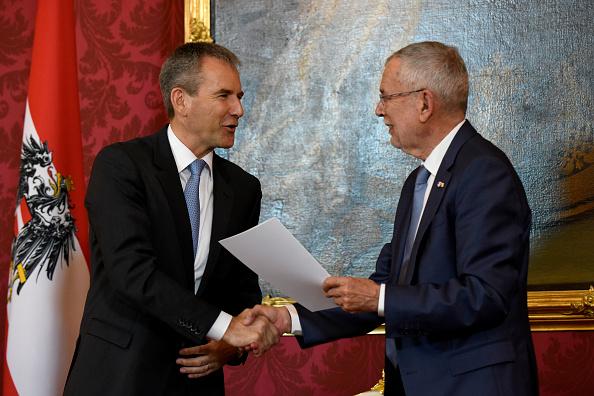 Thomas Kronsteiner「Kurz Discharged, Hartwig Löger Named Interim Chancellor」:写真・画像(13)[壁紙.com]