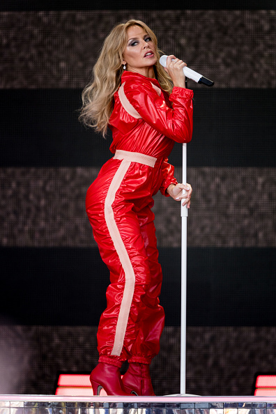 Kylie Minogue「Glastonbury Festival 2019 - Day Five」:写真・画像(6)[壁紙.com]