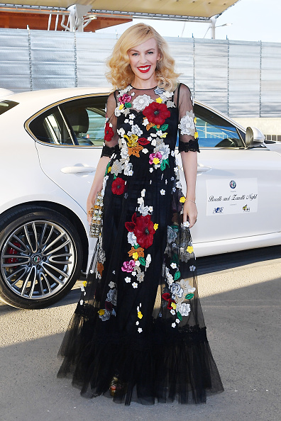 Kylie Minogue「Bocelli And Zanetti Night - Arrivals」:写真・画像(18)[壁紙.com]