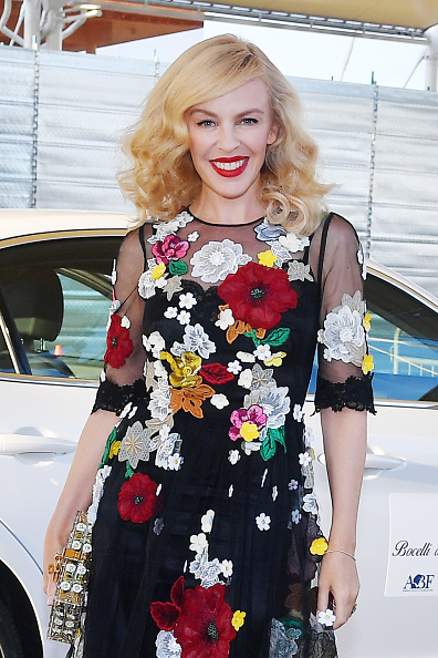 Kylie Minogue「Bocelli And Zanetti Night - Arrivals」:写真・画像(12)[壁紙.com]