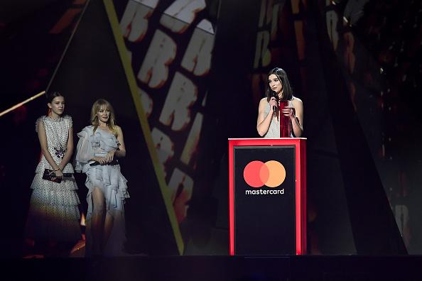カイリー・ミノーグ「The BRIT Awards 2018 - Show」:写真・画像(6)[壁紙.com]