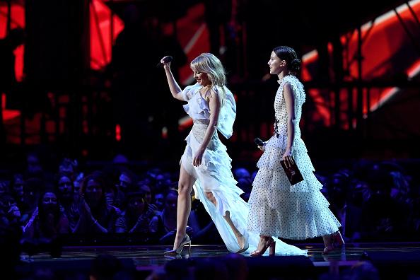 カイリー・ミノーグ「The BRIT Awards 2018 - Show」:写真・画像(1)[壁紙.com]