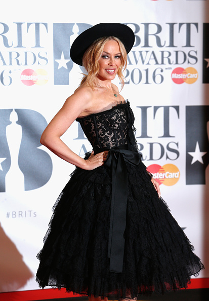 Kylie Minogue「Brit Awards 2016 - Red Carpet Arrivals」:写真・画像(11)[壁紙.com]