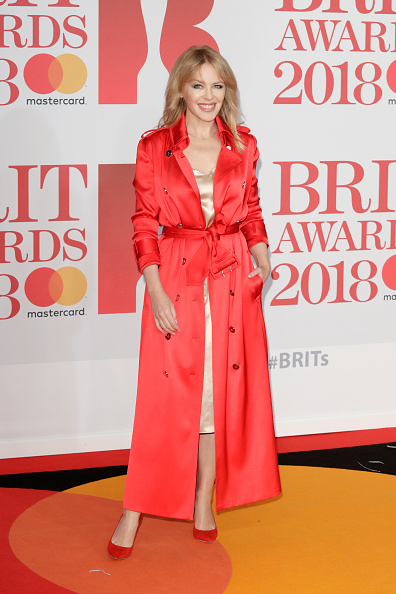 カイリー・ミノーグ「The BRIT Awards 2018 - Red Carpet Arrivals」:写真・画像(0)[壁紙.com]