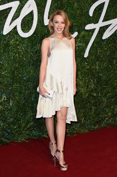 Bronze Colored「British Fashion Awards - Red Carpet Arrivals」:写真・画像(1)[壁紙.com]