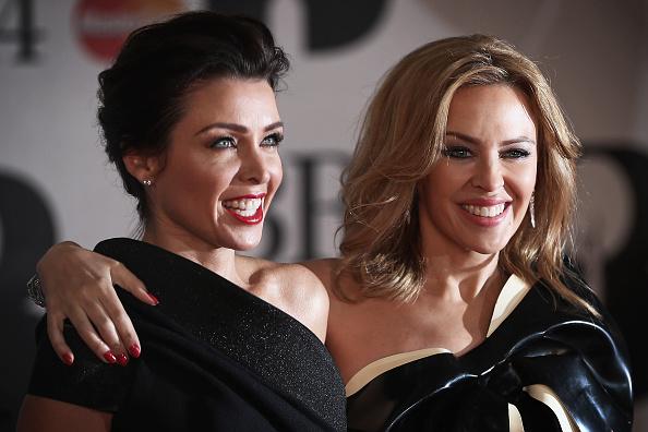 Dannii Minogue「The BRIT Awards 2014 - Red Carpet Arrivals」:写真・画像(4)[壁紙.com]