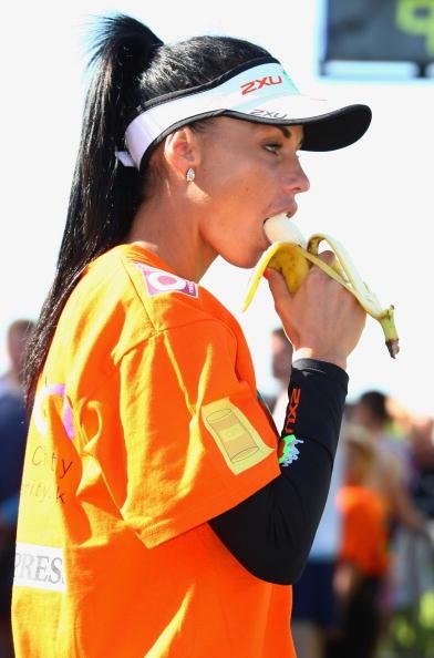 Orange - Fruit「Celebrities Compete In The London Marathon 2009」:写真・画像(18)[壁紙.com]