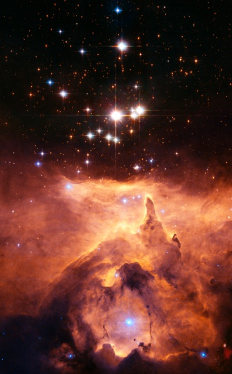 Hubble Space Telescope「Star cluster」:スマホ壁紙(10)