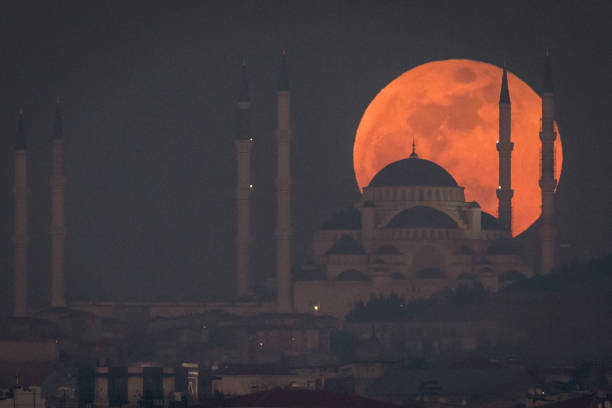 Eclipse「Rare Super Blood Moon Is Visible In Istanbul」:写真・画像(18)[壁紙.com]