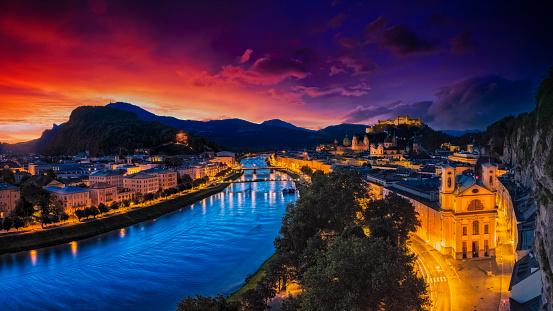 Music Festival「Historic city of Salzburg, Salzburger Land, Austria」:スマホ壁紙(15)