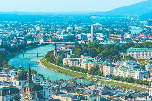 Music Festival「Historic city of Salzburg in summer, Austria」:スマホ壁紙(13)