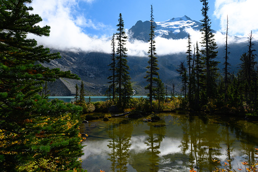 Joffre Lakes Provincial Park「Joffre Lakes in British Columbia」:スマホ壁紙(6)