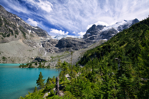 Joffre Lakes Provincial Park「Joffre Lakes in summer, BC, Canada」:スマホ壁紙(18)
