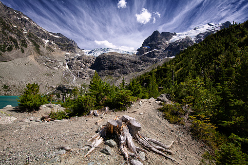 Joffre Lakes Provincial Park「Joffre Lakes in summer, BC, Canada」:スマホ壁紙(19)