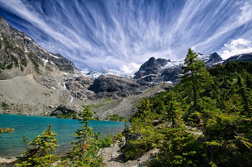 Joffre Lakes Provincial Park「Joffre Lakes in summer, BC, Canada」:スマホ壁紙(15)