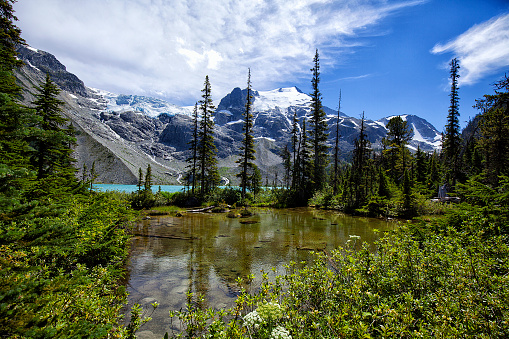 Pemberton「Joffre Lakes in summer, BC, Canada」:スマホ壁紙(3)