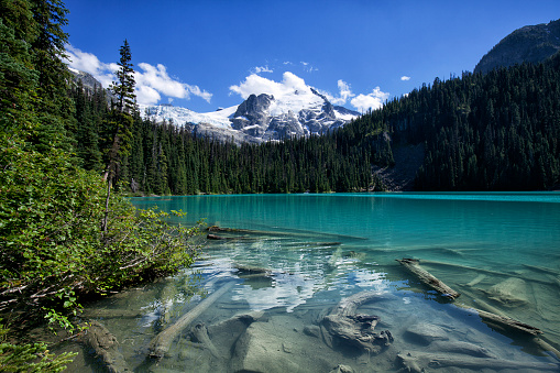 Whistler - British Columbia「Joffre Lakes in summer, BC, Canada」:スマホ壁紙(13)