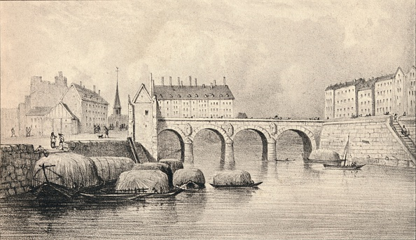 Physical Geography「'The Pont Marie', 1915. Artist: Unknown.」:写真・画像(4)[壁紙.com]