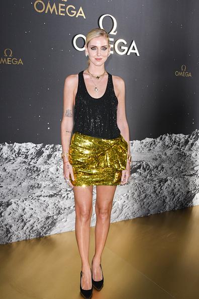 Sequin Skirt「OMEGA 50th Anniversary Moon Landing Event」:写真・画像(1)[壁紙.com]