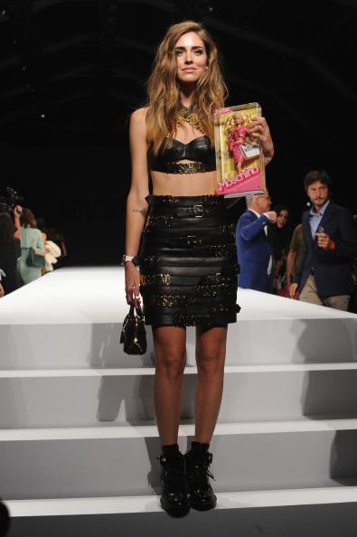 Womenswear「Moschino - Front Row - Milan Fashion Week Womenswear Spring/Summer 2015」:写真・画像(15)[壁紙.com]