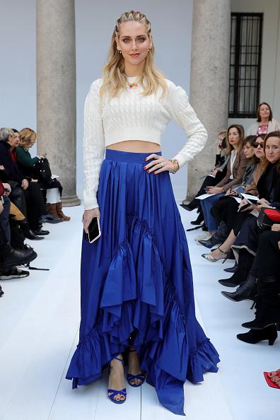 Blue「Max Mara - Arrivals & Front Row - Milan Fashion Week Fall/Winter 2020/2021」:写真・画像(16)[壁紙.com]