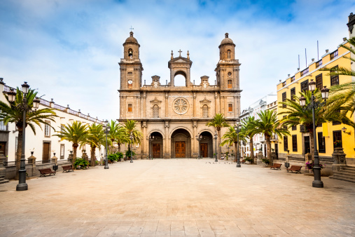 Town Square「Cathedral Santa Ana Las Palmas de Gran Canaria」:スマホ壁紙(9)