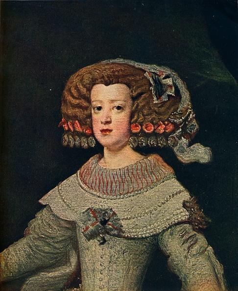 Austria「'Portrait De La Reine Marie-Anne', (Mariana Of Austria), 1652, (1910)」:写真・画像(14)[壁紙.com]