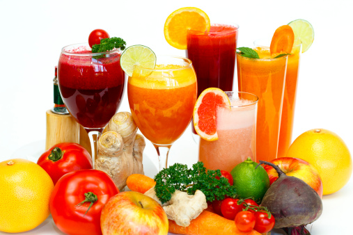 Carrot「Fruit coctails」:スマホ壁紙(2)