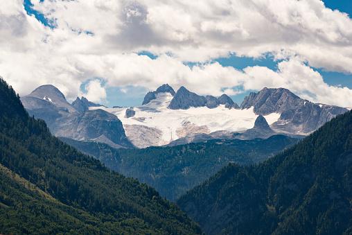 月「ダッハシュタイン、氷河の融解、2017 年 8 月、オーストリア」:スマホ壁紙(6)