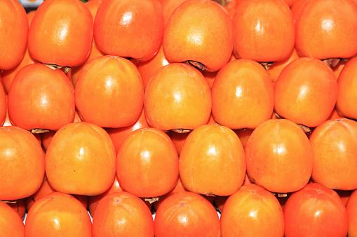柿「Kaki fruits」:スマホ壁紙(5)