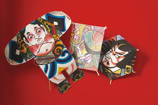 戦国武将「Japanese samurai kites」:スマホ壁紙(14)