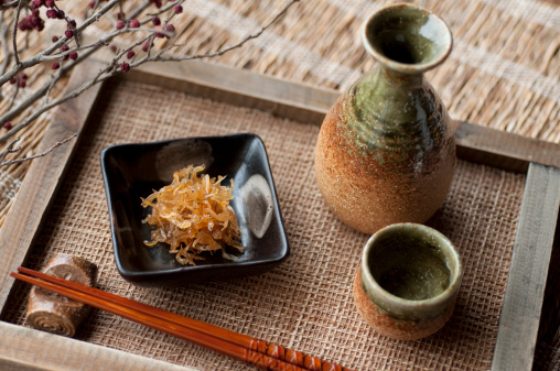 Sake「Japanese Sake with a side dish」:スマホ壁紙(4)