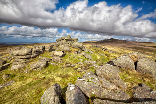 Walking「Ger Tor on Dartmoor」:スマホ壁紙(14)