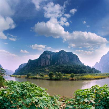 Frond「Nature Scene In Zhang River,Hubei,China」:スマホ壁紙(6)