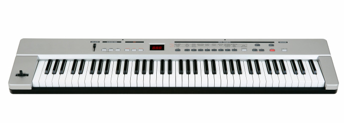 Key「Midi keyboard on white」:スマホ壁紙(3)