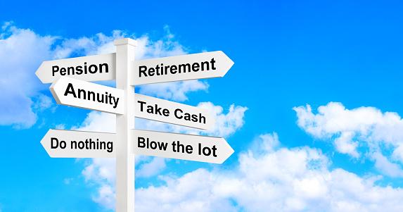 Choice「Retirement annuity sign post」:スマホ壁紙(10)