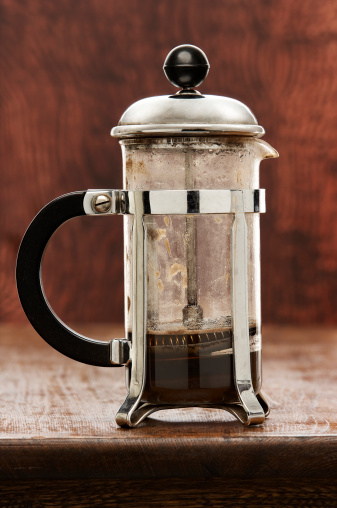 French Press「Cafetiere, close-up」:スマホ壁紙(4)