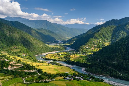 Himalayas「Punakha Valley, Bhutan」:スマホ壁紙(5)