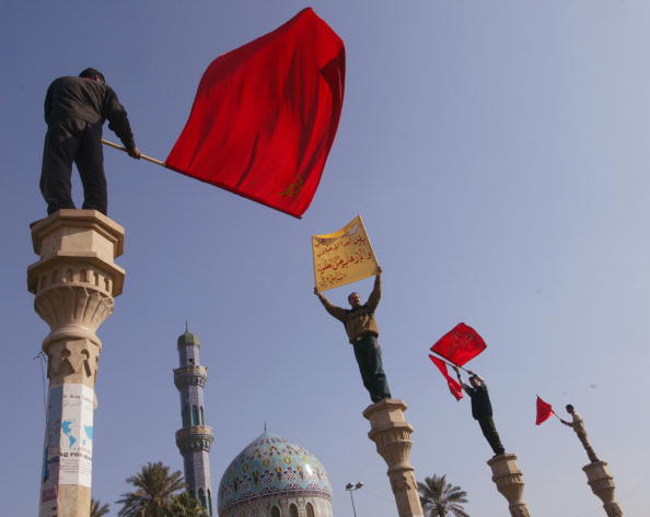 Architectural Feature「Anti-Terror Rally In Baghdad, Iraq」:写真・画像(12)[壁紙.com]